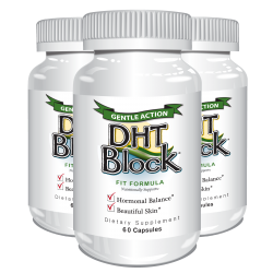 DHT Block 60 caps (3 Pack) - Delgado Protocol - Save $20.10!!!