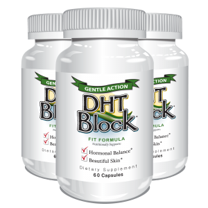 DHT Block 60 caps (3 Pack) - Delgado Protocol - Save $26.98!!!