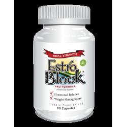 Delgado Protocol - EstroBlock Pro Formula Triple Strength 60 caps Detox Products
