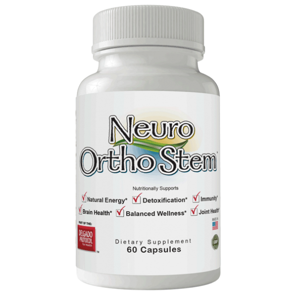 Neuro Ortho Stem 60 caps - Delgado Protocol Hormone Adjustment
