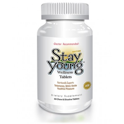 Delgado Protocol - Stay Young AM 60 Chew & Dissolve Tablets