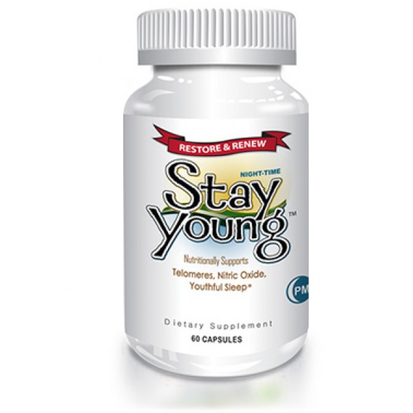 Delgado Protocol - Stay Young PM, Night-Time 60 Caps