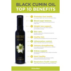 Activation Products - Black Cumin Oil Perfect Press 250ml