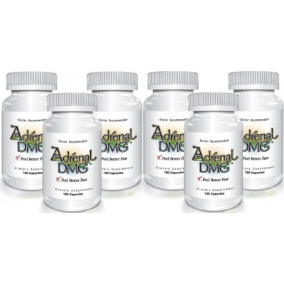 Adrenal DMG 180 caps (6 Pack) - Delgado Protocol - Save $54.52!!