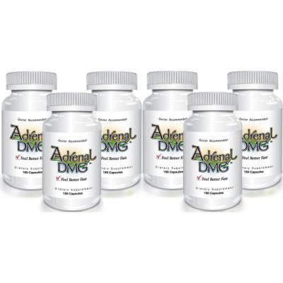 Delgado Protocol - Adrenal DMG 180 caps (6 Pack) Save $47.00!!