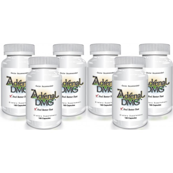 Delgado Protocol - Adrenal DMG 180 caps (6 Pack) Save $54.52!! Detox Products