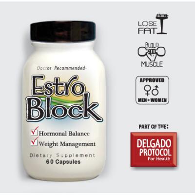EstroBlock 60 caps Detox Products