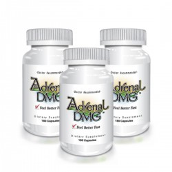 Delgado Protocol - Adrenal DMG 180 caps (3 Pack) Save $17.35!! Detox Products