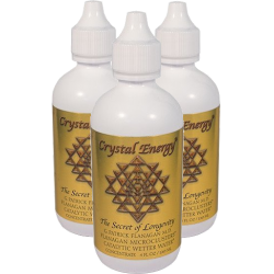 Phi Sciences - Crystal Energy 120ml  (3 Pack) Save $34!!! Detox Products