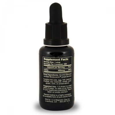 Nascent Iodine - 1oz (2% Strength) 30ml Detox Products