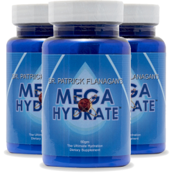 Phi Sciences - Mega Hydrate 50gram Powder (3 Pack) Save $45!!! Detox Products