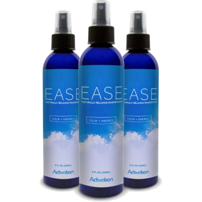EASE Magnesium Spray 250ml x 3 bottles - Activation Products - Save $15!!!