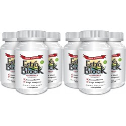 EstroBlock Pro Formula Triple Strength 60 caps (6 Pack) - Delgado Protocol - Save $50.00!!!