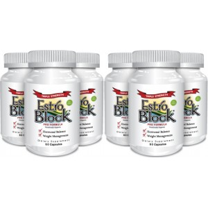 EstroBlock Pro Formula Triple Strength  (6 Pack) - Delgado Protocol - Save $53.95!!!
