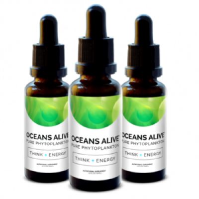 Activation Products - Oceans Alive Marine Phytoplankton 30ml - New Version 2.0 (3pack) Save $35!!!