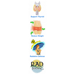 Delgado Protocol - Rad Iodine 30 caps Detox Products